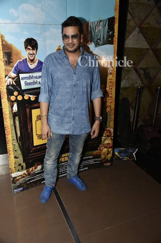 Casting director Mukesh Chhabra poses for the cameras.