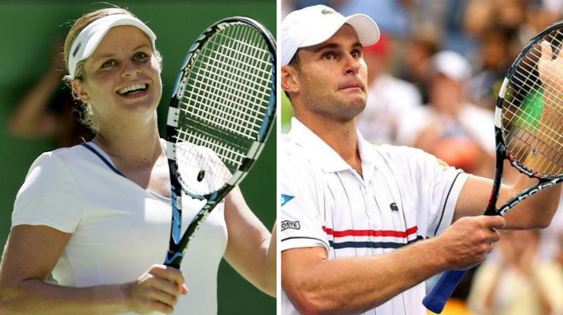 Kim Klijsters and Andy Roddick to be inducted into Hall of Fame