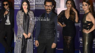 Bollywood stars turned out in good numbers and several of them bagged prizes at the GQ Men of the Year Awards held in Mumbai late Friday. (Photo: Viral Bhayani)