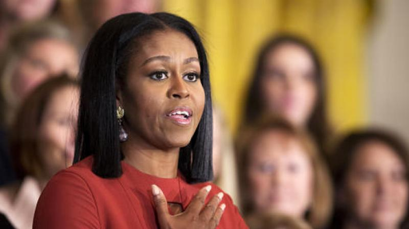 US First lady Michelle Obama. (Photo: AP)