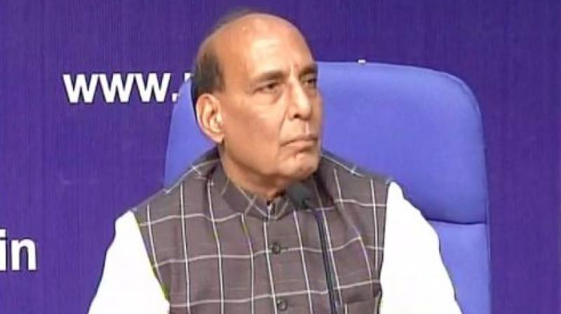 45% fall in infiltration after surgical strikes: Rajnath Singh