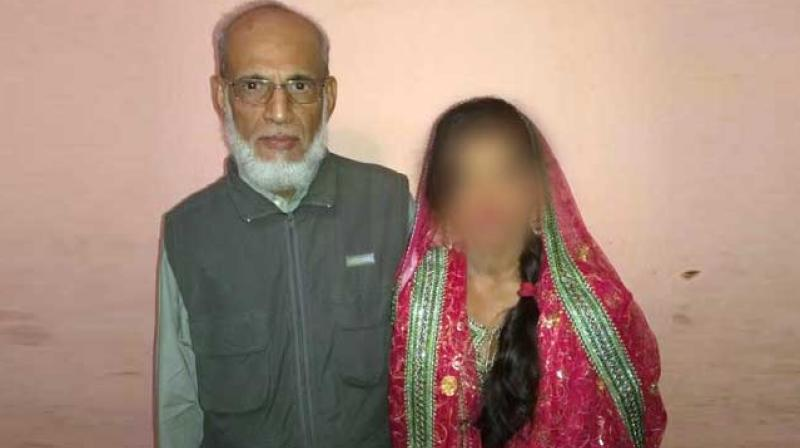 16-year-old girl married off to 65-year-old Arab Sheikh