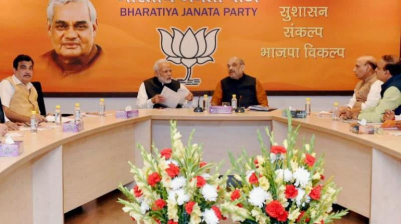 BJP meeting to finalize candidates for Gujarat Assembly polls