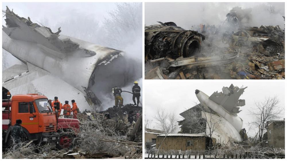 Turecké nákladní letadlo se zřítilo na vesnici, zemřelo nejméně 37 lidí