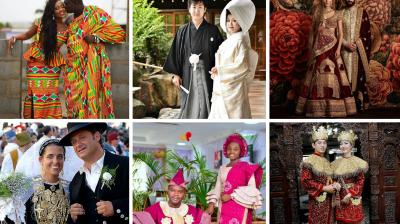 Every country has its own rich cultural heritage which reflects in the kind of dress, food and traditions that their people have. These traditional outfits that people from different countries wear at weddings will make you want to get hitched quickly. (Photo: Facebook)