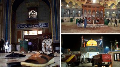 At least 72 people were killed and hundreds wounded Thursday when a bomb ripped through a revered Sufi shrine in southern Pakistan, officials said. (Photo: AFP)