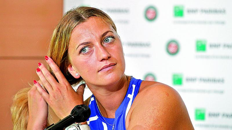 French Open 2017: Kvitova 'wins biggest fight' with comeback