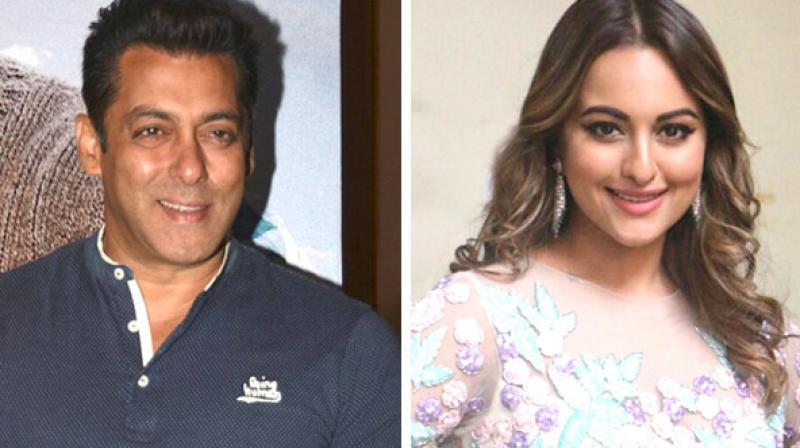 Salman Khan and Sonakshi Sinha last worked together in 'Dabangg 2.'