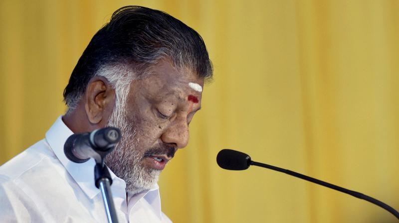 Tamil Nadu MLA and former CM O Panneerselvam. (Photo: File)