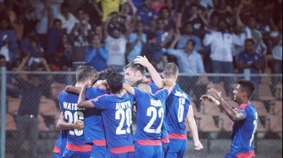 Bengaluru FC scripted history on Wednesday as they became the first Indian side to enter AFC Cup final. (Photo: Bengaluru FC)