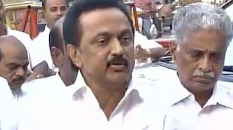 DMK-led oppn demands dismissal of Palaniswami govt