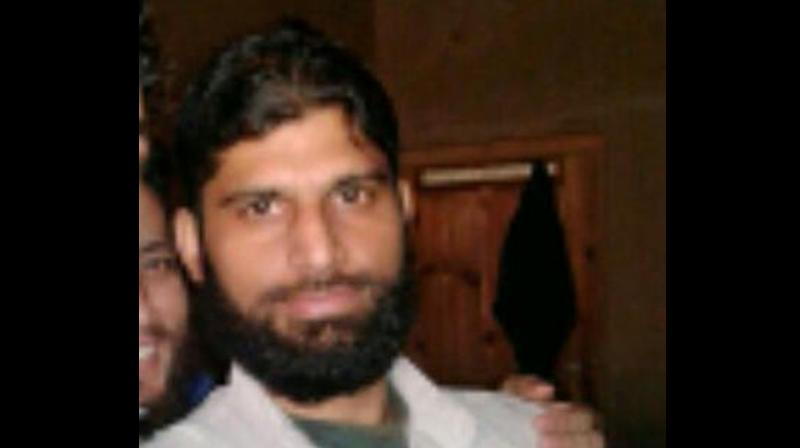 Lashkar commander Abu Ismail gunned down by Security forces in Nowgam. (Photo: J&K Police)