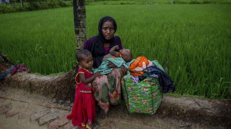 Rohingyas pose security threat: Govt to apex court