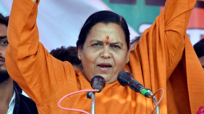 Ready to sacrifice my life for Ram Mandir, says Uma Bharti