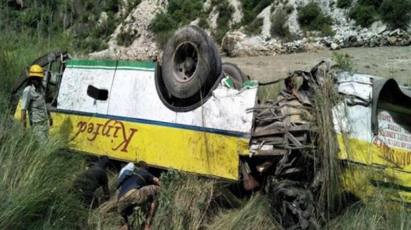 PM condoles loss of lives in Himachal bus accident