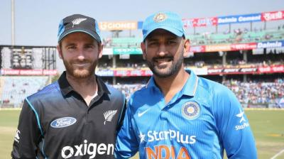 Mahendra Singh Dhoni will be more than happy if Team India clinches the ODI series in his hometown in Ranchi on Wednesday. (Photo: BCCI)