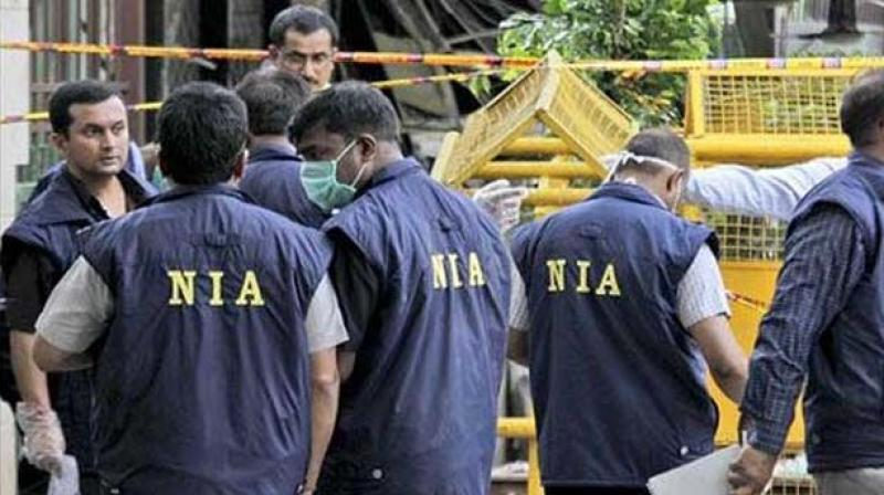 Letterheads of Hizbul, LeT found in NIA raids