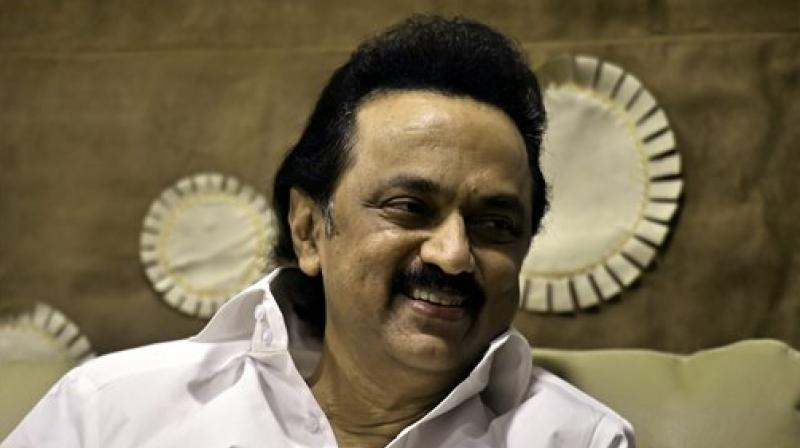 DMK leaders led by MK Stalin go on Statewide Hunger Strike