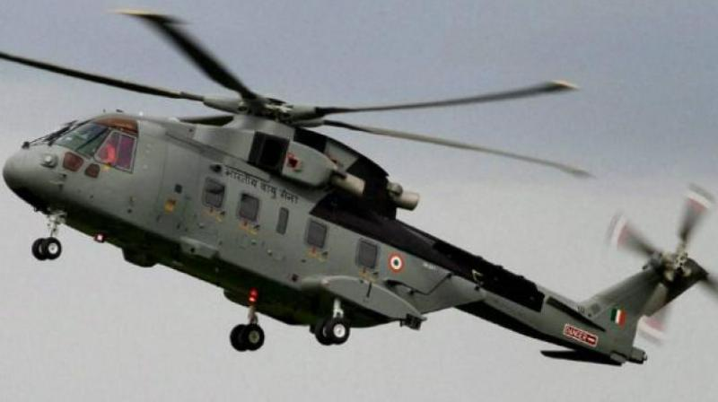 Senior commanders were on-board the helicopter when it crashed. (Photo: PTI/Representational)