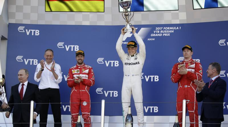 Valtteri Bottas wins maiden F1 GP in Russian Federation