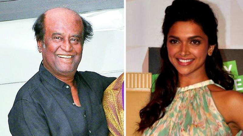 Deepika Padukone not part of Rajinikanth's next