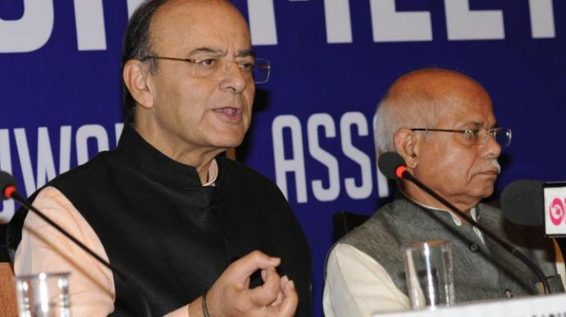 The GST Council, headed by Finance Minister Arun Jaitley, had last week brought down tax rate on 178 products from 28 per cent to 18 per cent. (Photo: Twitter/Arun Jaitley)