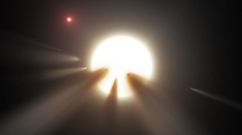 Mysterious Alien star brightness dips; scientists rush to solve the fluctuations mystery