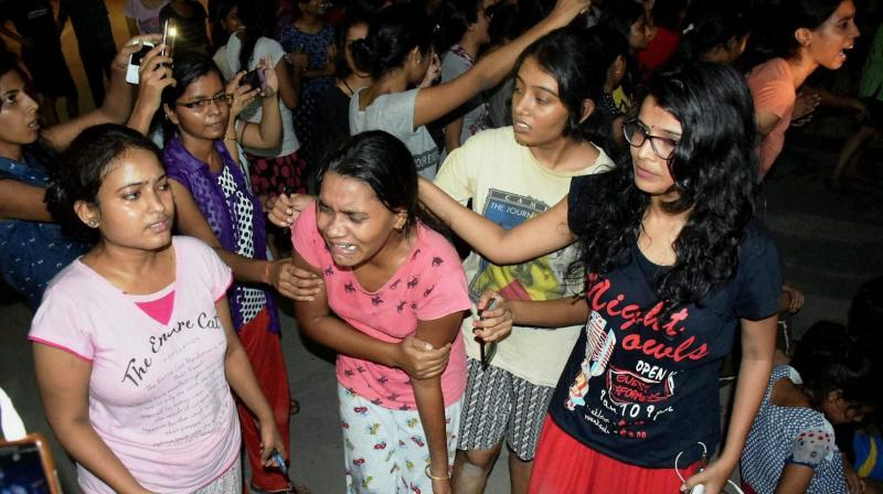 Image result for Police students clash over eve teasing spat at BHU campus