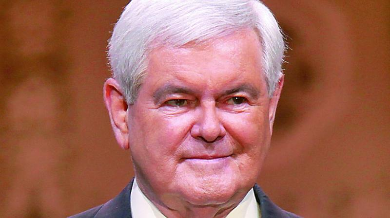Newt Gingrich endorses Donald Trump's plan to buildup USA nuclear programme
