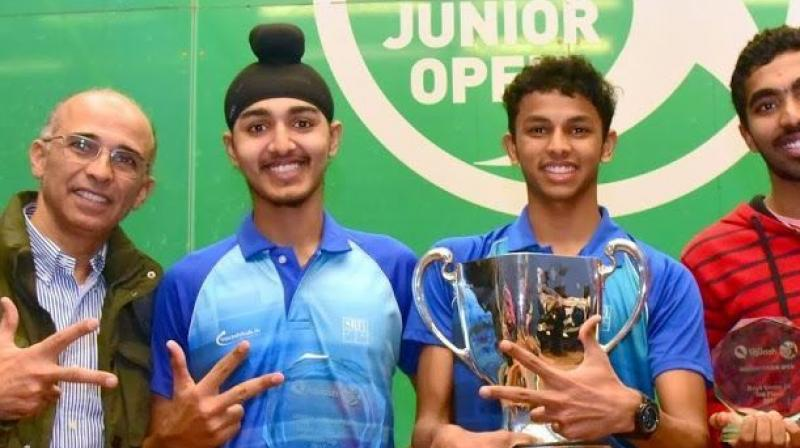 Image result for India beat Pakistan to top pool in Asian Junior Squash