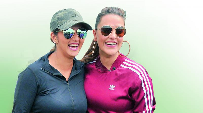 Don't forget our cricket heroines, Sania Mirza tells India