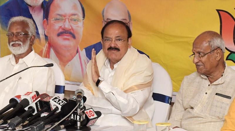 BJP against quota based on religion: Venkaiah Naidu