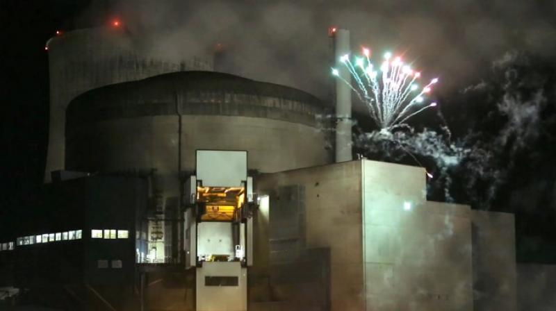 Activists launched a firework in the perimeter of a French nuclear plant (Representational Image | AFP)