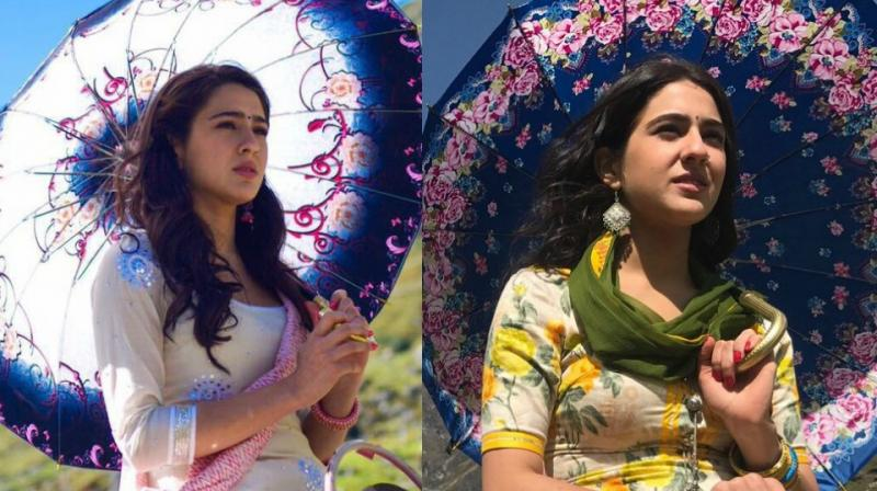 Sara Ali Khan's first look in 'Kedarnath.'