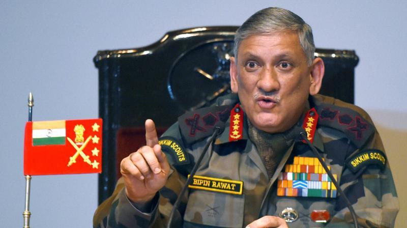 Army Chief Gen Bipin Rawat. (Photo: PTI)