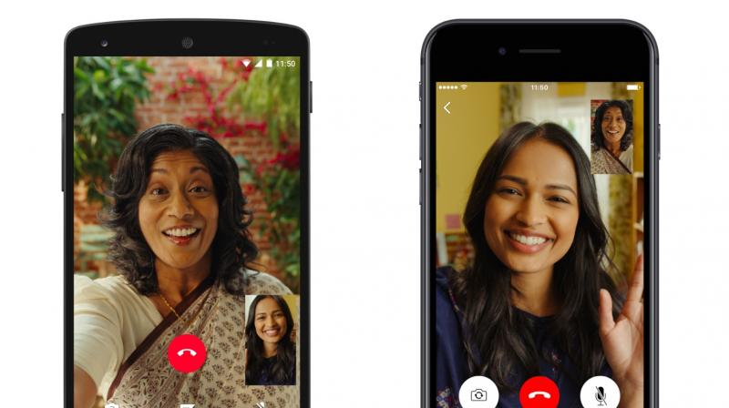 WhatsApp's working on group voice, video calls