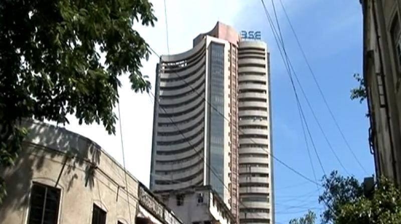 Sensex pares initial gains, down 30 pts
