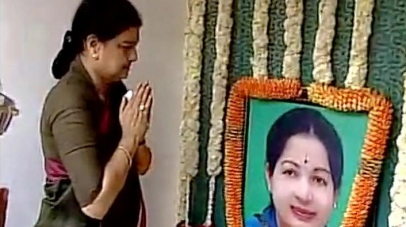 Only Anna, MGR and Jayalalithaa will be projected: Sasikala