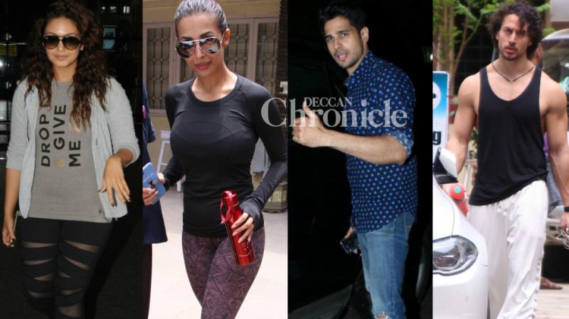 Be it the gym, airport, restaurant, yoga classes or events, shutterbugs captured Bollywood stars on Thursday. (Photo: Viral Bhayani)