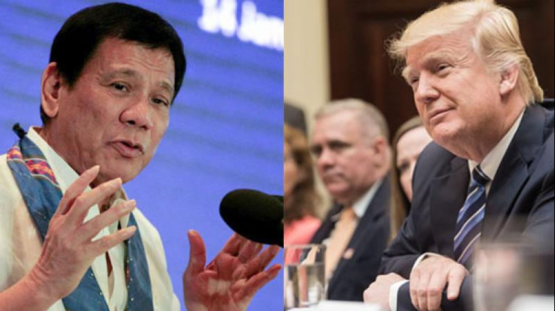 Philippines says Trump recognized 'great job' Duterte is doing