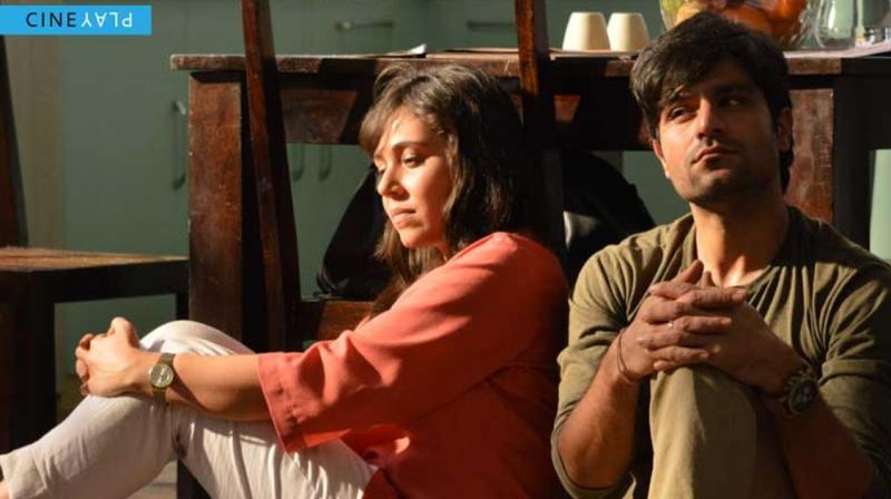 Maanvi Gagroo and Sunny Hinduja in a still from the film (Pic cpurtesy: Cine Play).