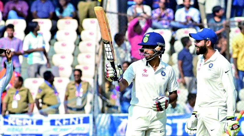 India vs Bangladesh Test, day two