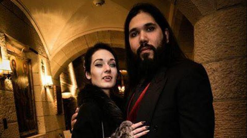 The couple is set to get married in a vampire themed wedding (Photo: Facebook)