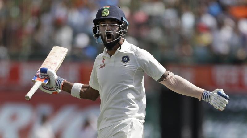 Rahul breaks into top ten for Test batsmen