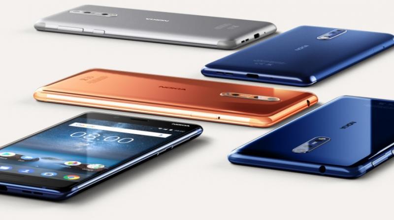 Nokia 8 (Photo: Nokia/Twitter)