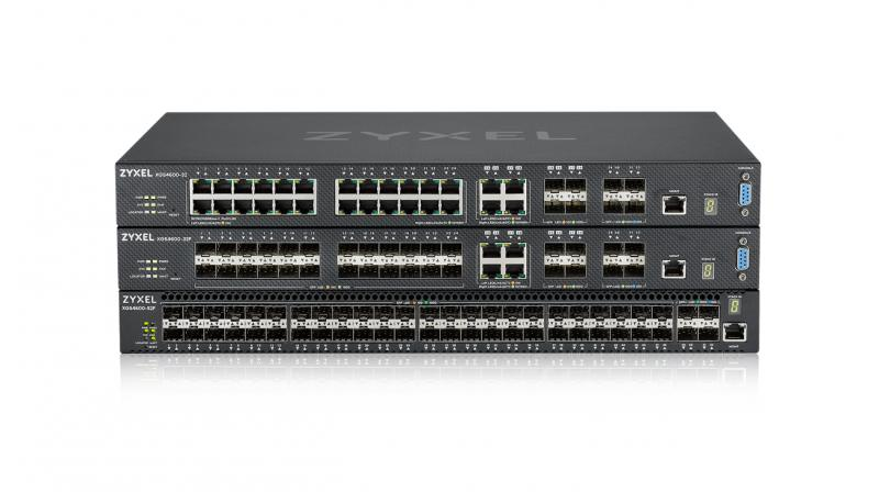 The XGS4600-52F is equipped with 48 ports of gigabit connectivity for downlink and 4 ports of 10-gigabit connectivity for uplinks to tackle the challenges of high-port count aggregation deployment.