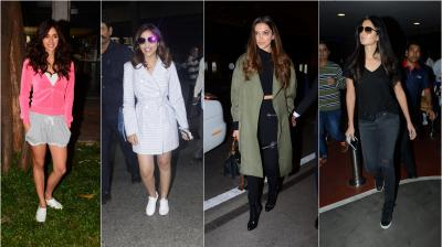 It's a happening Friday as our favourite stars stepped out, looking dazzling as ever for shutterbugs. (Photo: Viral Bhayani)