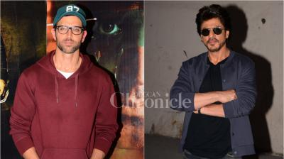 Who doesn't like a little competition and who doesn't like to stay away from the race and witness the proceedings? Audiences are nothing but excited to watch their two superstars, SRK and Hrithik go up against each other next week.