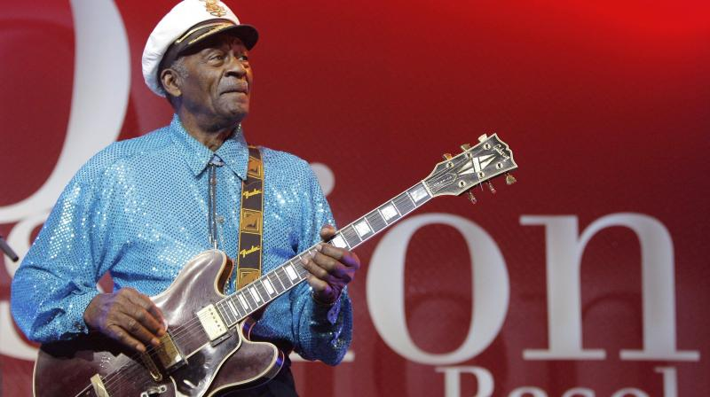 Chuck Berry exudes classic rock flair in posthumous song