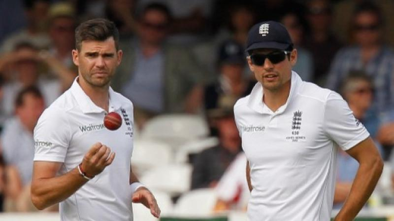 Alastair Cook: India-England second Test 'a good possibility' for James Anderson